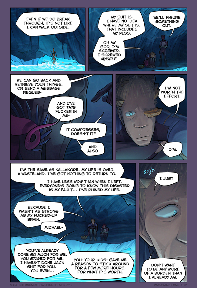 Getting fucked by life comic Mare Internum A Science Fiction Webcomic Chapter 5 Page 37