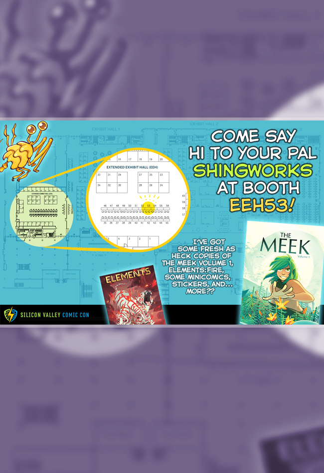 Come say hi at SVCC this weekend!